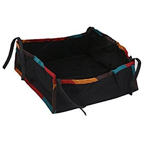 Attachable Storage Bag Bottom Basket for Stroller Pushchair