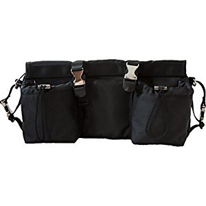 Buggygear Smart Stroller Organizer and Cooler-Jet Black