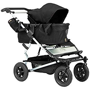 Mountain Buggy Joey Storage with Tote Bags for Duet Double Stroller, Black