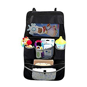 Munchkin Backseat and Stroller Organizer, Black