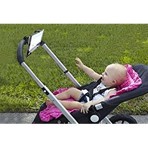 Baby Stroller IPAD, Tablets Stand Holder Rack Children Cart Accessories Outdoor PP Black IPAD Accessory Gift New High Quality
