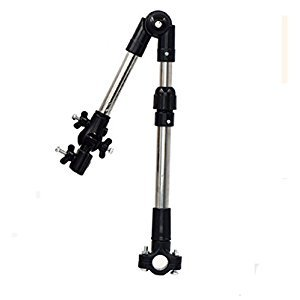Bicycle Umbrella Stand Wheelchair Pram Swivel Umbrella Connector Stroller Holder / djustable Length Tube Handle for Stroller Wheelchair Baby Chair / Any Angle Umbrella Stands Practical Tools