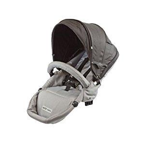 Guzzie+Guss G+G 1+1 Gabriola Stroller 2nd Seat (Grey)