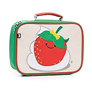 Beatrix New York Lunch Box-Strawberry, Multicolor