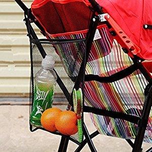 Efbock Amazing Baby Stroller Organizer Carrying Bag Pushchair Mesh Bag Umbrella Baby Car Bag Stroller Accessories 2pcs