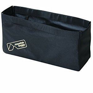 Mountain Buggy Joey Clip-On Tote Bag for Duet/Duo (Black)