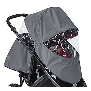 Britax 2017 B-Ready Rain Cover, Gray