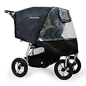 Bumbleride Non-PVC Rain Cover for Indie Twin Strollers