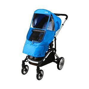 Manito Elegance Beta Stroller Weather Shield / Rain Cover - Blue