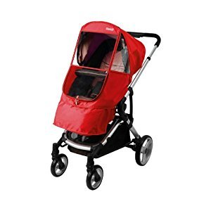 Manito Elegance Beta Stroller Weather Shield / Rain Cover - Red