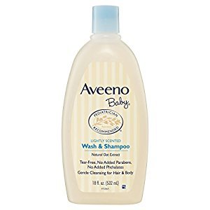 Aveeno Baby Wash & Shampoo 532 ml