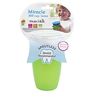 Munchkin Miracle 360-Degree 10 Oz Sippy Cup, (Colors May Vary)