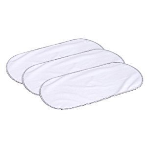 Munchkin Waterproof Changing Pad Liner, White, 3-Pack