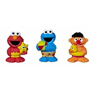 SESAME STREET Bath Squirters