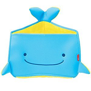 Skip Hop Moby Corner Bath Toy Organizer, Blue, Small, Large, X-Small, 4 oz.