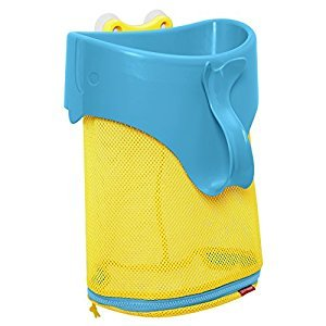 Skip Hop Moby Scoop & Splash Bath Toy Organizer, Blue