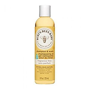 Burt's Bees Baby Fragrance Free Shampoo and Wash 235ml