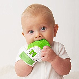 Munch Mitt Baby Teething Mitten - Green