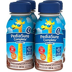 Pediasure Complete Chocolate, 235mL Bottle, 4-Pack