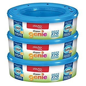 Playtex Diaper Genie Refill, 270 Count (Pack of 3)