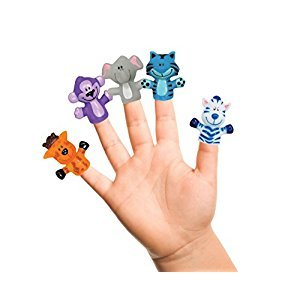 IDEA FACTORY Finger Puppets, Farm Animal