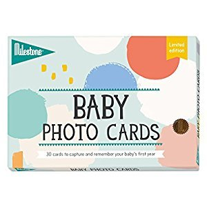 Milestone-Baby Cotton Candy Photo Cards, One Size