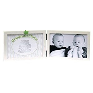 The Grandparent Gift Sweet Somethings Frame, Grandma of Twins