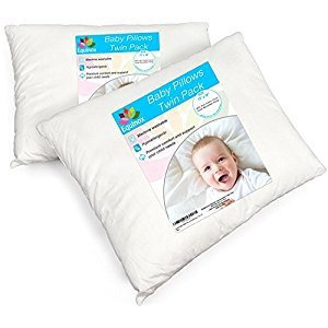 [2-Pack] Equinox Baby Toddler Pillow Set - 13