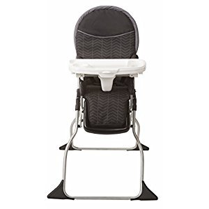 Cosco 03016CDFL Simple Fold Plus High Chair - Black Arrow