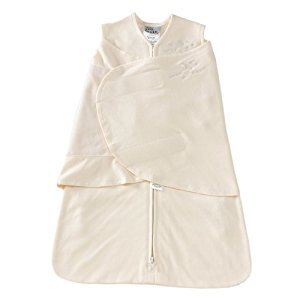 HALO 2150 SleepSack 100-Percent Cotton Swaddle Small Cream