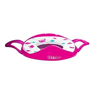bblüv - Pöti - Padded Toilet Seat Cover for Potty Training (Pink)