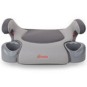 Diono Hip Backless Booster, Grey