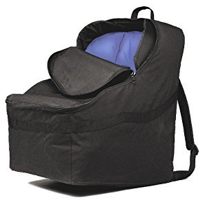 J. L. Childress Ultimate Car Seat Travel Bag, Black, 1 Pack