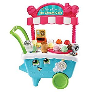 LeapFrog Scoop & Learn Ice Cream Cart Playset