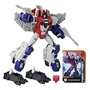 Transformers E1137AS00 Gen Primes Starscream Action Figure