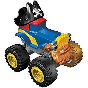 Fisher-Price Nickelodeon Blaze and The Monster Machines Pegwheel Pete Vehicle