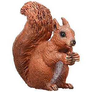 Schleich Eating Squirrel Toy Figure