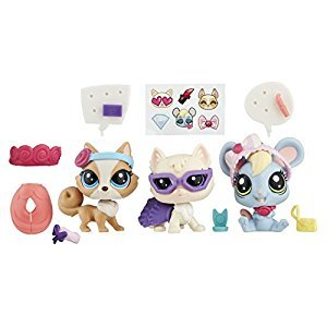 Littlest Pet Shop - Glam Gala 3 Pet Pack