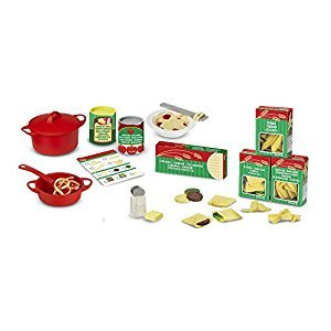 Melissa & Doug Prepare and Serve Pasta Playset