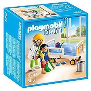 Playmobil Doctor with Child Playset