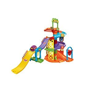 VTech Go! Go! Smart Wheels, Spinning Spiral Tower Playset (French Version)