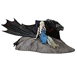 Dark Horse Deluxe JUL150116 Game of Thrones: Daenerys and Drogon Statue