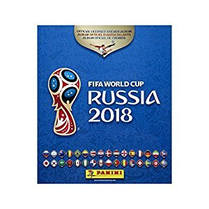 2018 FIFA Soccer World Cup Russia Sticker Collection Album