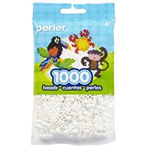 Perler Beads Bead Bag, White