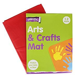 Children's Arts & Craft Wipe Clean Mat for Floor or Table 1.2 Meter
