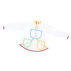 Homyl Children Anti-fouling Waterproof Long Sleeve Painting Apron Kitchen/Baking Smock Kids Art Craft