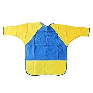 Kinder Smocks Long Sleeves Ages 6-8 by PEERLESS PLASTICS