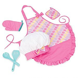 Play Circle Chef's Apron Set Pretend Play for Kids