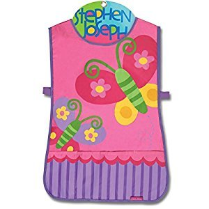 Stephen Joseph Butterfly Craft Apron