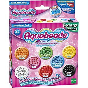 AquaBeads AB79168 Solid Assorted Bead Pack
